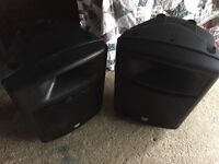 pair 2 laney cx15-a 300w amp speakers