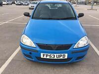 Vauxhall Corsa life 1.0 petrol 2003