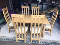 Next Table & 6 chairs