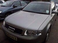 Audi a4 2.5 td quattro sport avant auto tiptronic. Spares/Repair