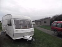 *Abbey Dorset GT 2 berth touring caravan. RIVERSIDE LA3 3ER*