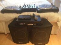 Full DJ Setup *Perfect Condition* includes 2x Numark TTX, Behringer DJX700 mixer & more