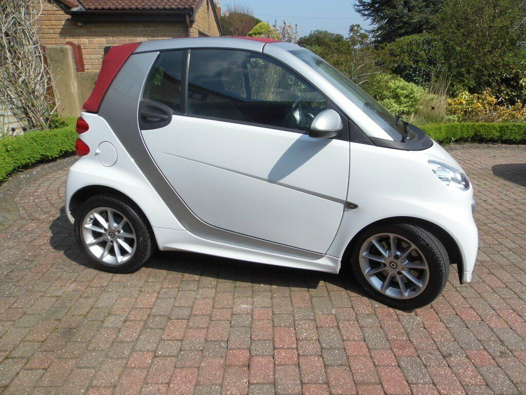Smart Passion Mhd Cabriolet 2012 December One Lady Owner Bristol Low Mileagepowersteering In Somerset Gumtree