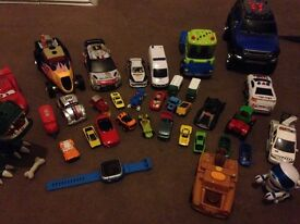 Large bundle of cars and other toys!!!!