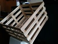 Wooden Crates - Acacia Solid Wood