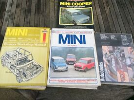 Mini (early marks) Manuals and Cooper Handbook