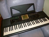 yamaha psr 330 full size digital keyboard,hundreds of quality voices,styles etc.excellent condition.