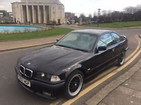 BMW E36 328i Sport COUPE EXCELLENT EXAMPLE WHITE ELECTRIC LEATHER MUST BE SEEN! **LOW MILEAGE**