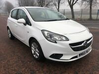 2016 Vauxhall CORSA Design 1.3 cdti ,only 34,000 miles , 1 owner from new ,clio,punto,fiesta,c1,108