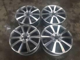 "Genuine mercedes 20"" alloys ml/gl"