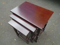 NEST OF 3 COFFEE TABLES at Haven Trust's charity shop at 247 Radford Road, NG7 5GU