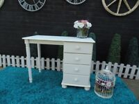 SOLID PINE DRESSING TABLE WITH 4 DRAWERS VERY SOLID UNIT AND IT'S IN VERY GOOD CONDITION