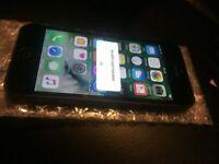 apple iphone 5 black slate grey 16gb gig o2 02 giff gaff tesco or unlocked