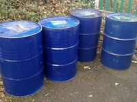 STEEL EMPTY 45 GALLON.OR 210 LTR DRUMS
