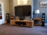 As Brand New Boxed Monitor Audio Bronze 6 speakers and matching centre speaker.