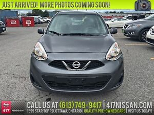 2016 Nissan Micra SV | Automatic, Bluetooth, Air Conditioning