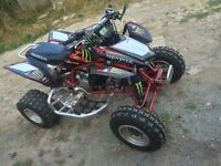 2008 honda trx 450 road legal quad