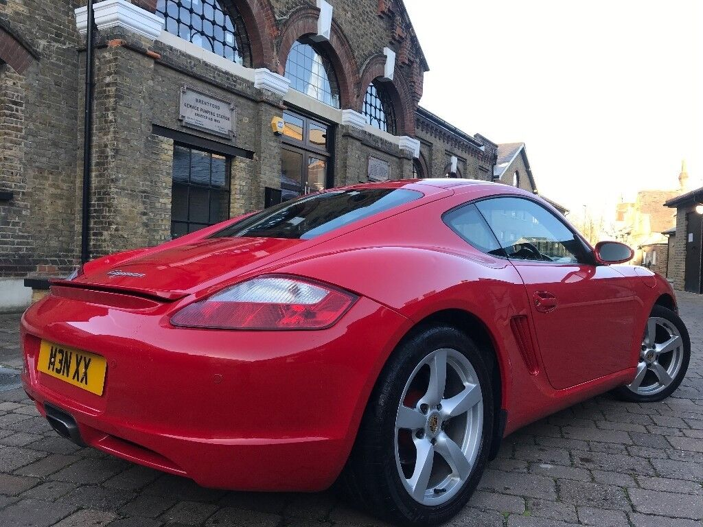 porsche cayman 2 7 987 full sh hpi clear in chiswick london gumtree. Black Bedroom Furniture Sets. Home Design Ideas