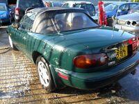 mazda mx5 1.6 eunos 1992 full leather good soundwee car