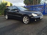 2005 MERCEDES-BENZ C320 CDI V6 ELEGANCE SE ESTATE - FULLY LOADED - COMMAND NAV - BI-XENONS - SUNROOF