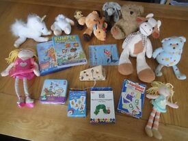 Soft Toys, Games, CD and DVD's