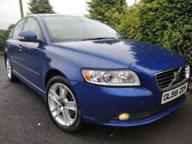 2010 VOLVO S40 2.0 TURBO DIESEL SE *ONLY 79K* LIKE NEW LIKE PASSAT A4 MONDEO FOCUS ASTRA S60