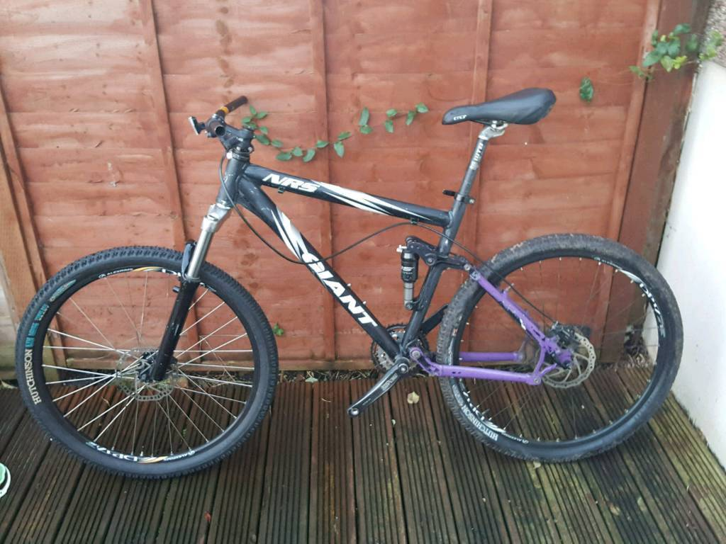 For sale are Giant NRS ans Specialized Hardrock bikes (unfinished ...