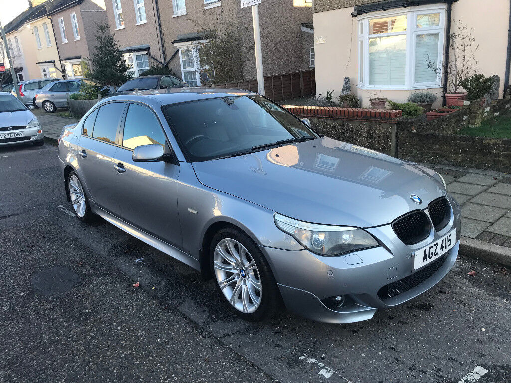 05 BMW 525i M Sport 6 speed manual grey low miles winter tyres ( 530i 523i