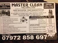 Master Clean (Carpet & upholstery Cleaning Company)