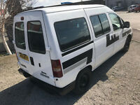 2002 Citroen Dispatch 6 Seater 1.9 diesel - wheel chair ramp / motorbike transporter recovery