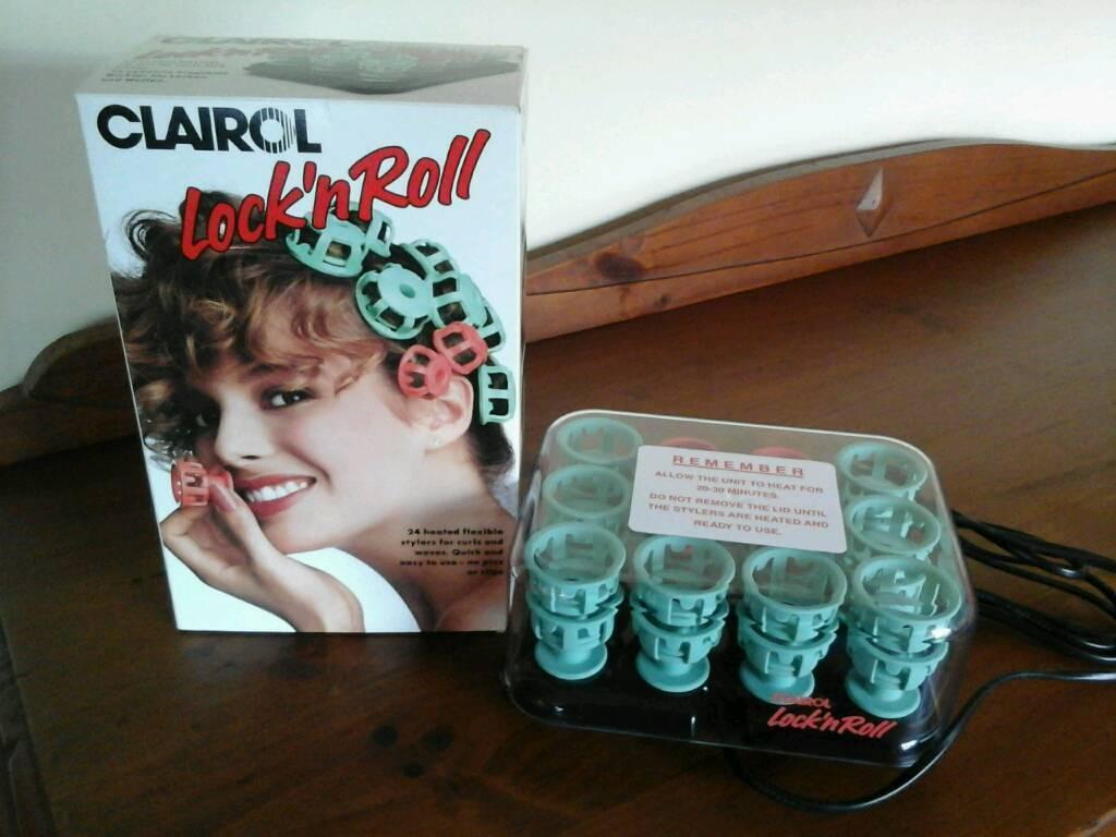 12 Clairol Lock N Roll Hair Stylers