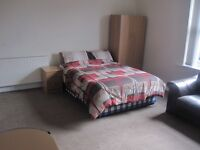 Large studio with ensuite bathroom for rent