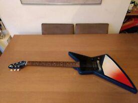 Gibson Explorer guitar with case