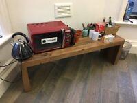 DINING BENCH - RECLAIMED PINE - W147 x D38 x H45cm