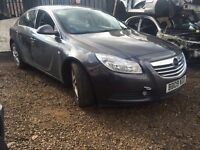 VAUXHALL INSIGNIA, 2.0CDTI, 2009, COLOUR CODE : Z177, 6 SPEED, BREAKING FOR SPARES