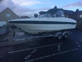 2000 bayliner 2352lx 5.7 v8 boat