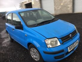 Fiat panda petrol breaking 2005 year bonnet bumper wing light engine gearbox