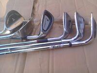 Golf clubs x 6 Wilson Vantage Pinseeker Dunlop Chipmaster - Mixed golf clubs