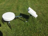 Pedicure reflexology stool