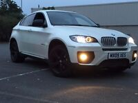 BMW X6 3.0 35D XDRIVE 5 SEAT DIESEL AUTOMATIC WHITE EXCELLENT DRIVE TOP SPECS NOT MODIFIED EVOQUE X5