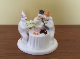 The Snowman 'The Merry Trio' figurine, Made by Coalport.