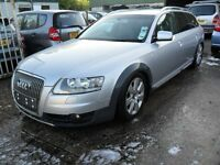 audi a6 all road quattro 3.0 tdi auto 2006/7 non runner sell as is or mey break for parts