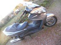2009 (10 plate) Suzuki Burgman 400 K9. Cat D.