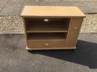 Tv stand with lock