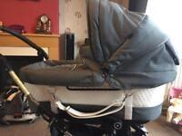 Emmaljunga mondial deluxe sport chassis pram/ pushchair/ system