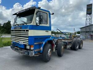 Scania R142 8x2 big axle full spring 12 tire chassis