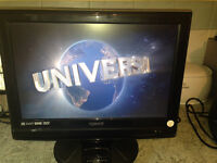 HD LCD Technika TV built-in ipod/iphone dock and DVD Players EXC! used 1 year