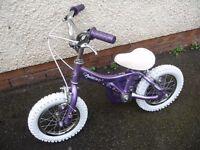 Giant Lil Puddin girls first kids childs bike aged 3+, brand new