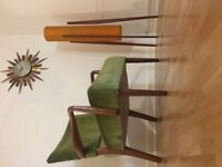 Armchair cocktail chair Danish Retro vintage