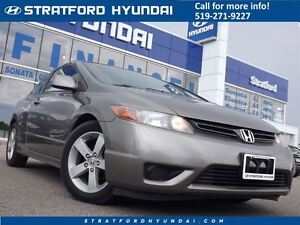 2006 Honda Civic EX | AUTO |  A/C | ALLOYS | WELL MAINTAINED! |